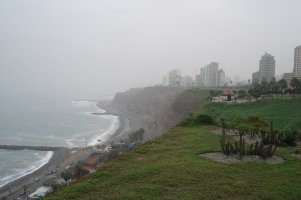 Strand in Lima