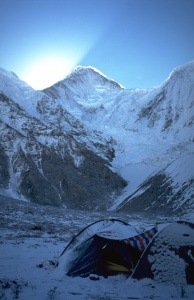Our base camp at Minya Konka, 4380 m