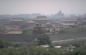 From the White Pagoda, the Forbidden City can nicely be viewed.