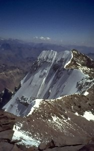View from the main summit
