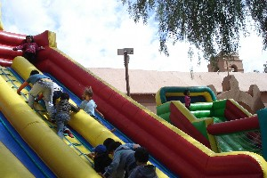 In San Pedro today is Children´s Day