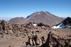On the summit of Cerro Corona (5291 m)