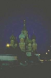Basil's Cathedral at Red Square, Moscow