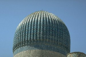 Dome of a mosque in Samarkand