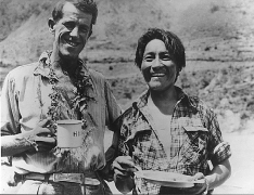 Edmund Hillary and Tensing Norgay 1953
